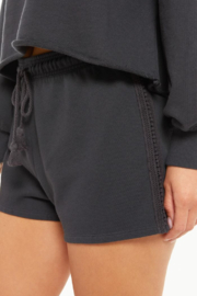 z supply Washed Ashore Terry Short - Front full body