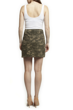 Dex Washed Camo Mini Skirt - Product List Image