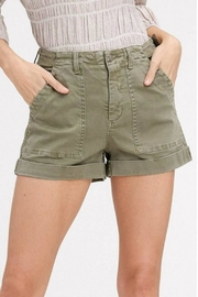 Listicle Washed Cargo Shorts - Product Mini Image