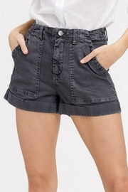 Listicle Washed Cargo Shorts - Front cropped