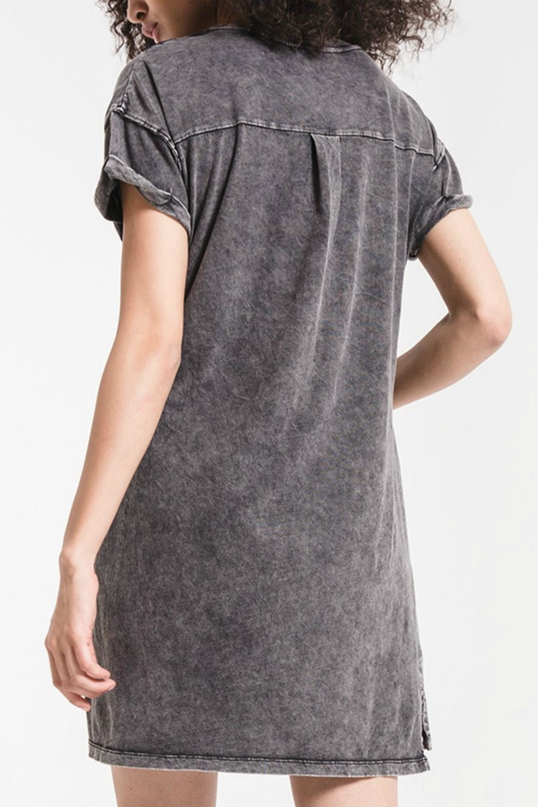 z supply Washed Cotton Dress - Front Full Image