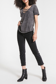 z supply Washed Cotton Strappy Tee - Product Mini Image