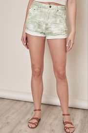 Mustard Seed  Washed Denim Short - Front cropped