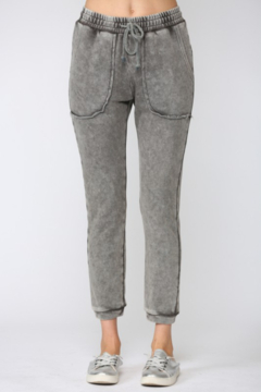 Shoptiques Product: Washed French Terry Jogger Pants
