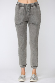 Fate Washed French Terry Jogger Pants - Front cropped