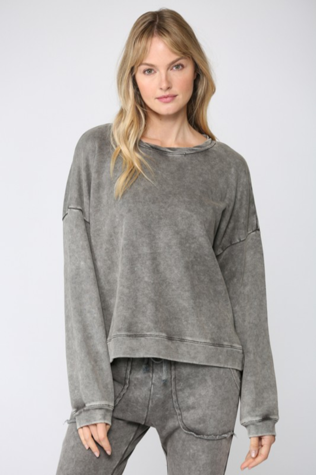 Fate Washed French Terry Sweatshirt - Main Image
