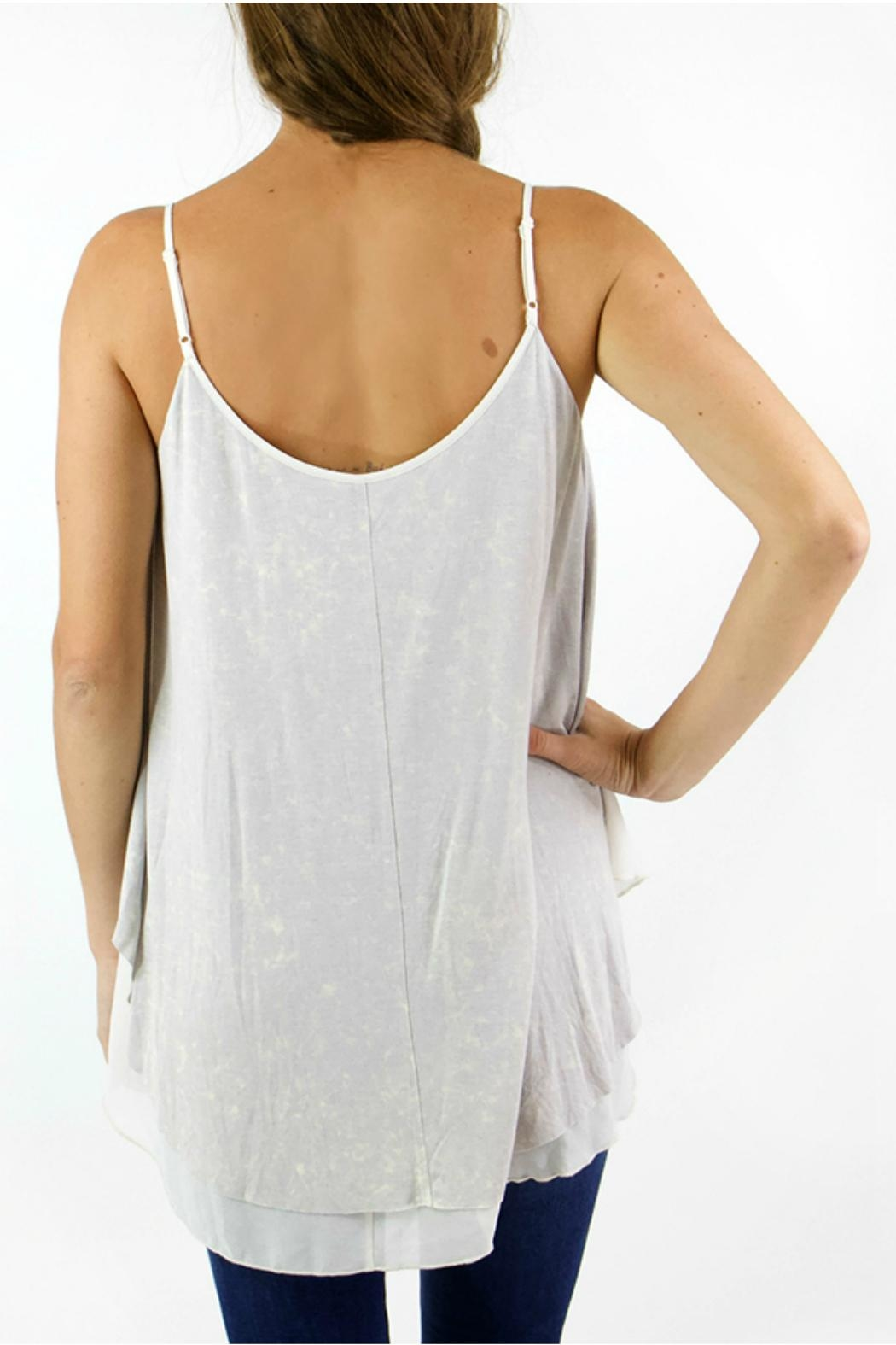 Grace & Lace Washed-Jersey Layered Cami - Front Full Image