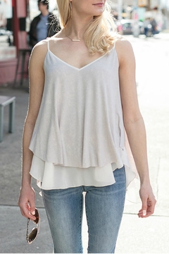 Grace & Lace Washed-Jersey Layered Cami - Product List Image