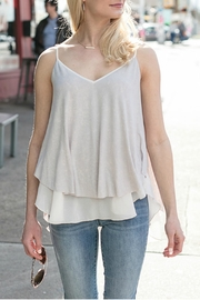 Grace & Lace Washed-Jersey Layered Cami - Front cropped