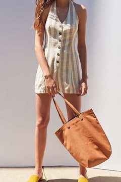Paradise  Washed linen Romper - Product List Image