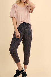 Umgee USA Washed Navy Pant - Product Mini Image