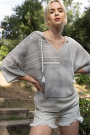 POL Washed Out Americana Lightweight Sweater - Product Mini Image