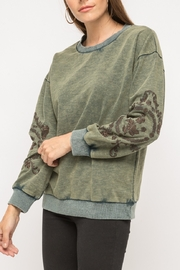 Mystree Washed Out Pullover - Product Mini Image