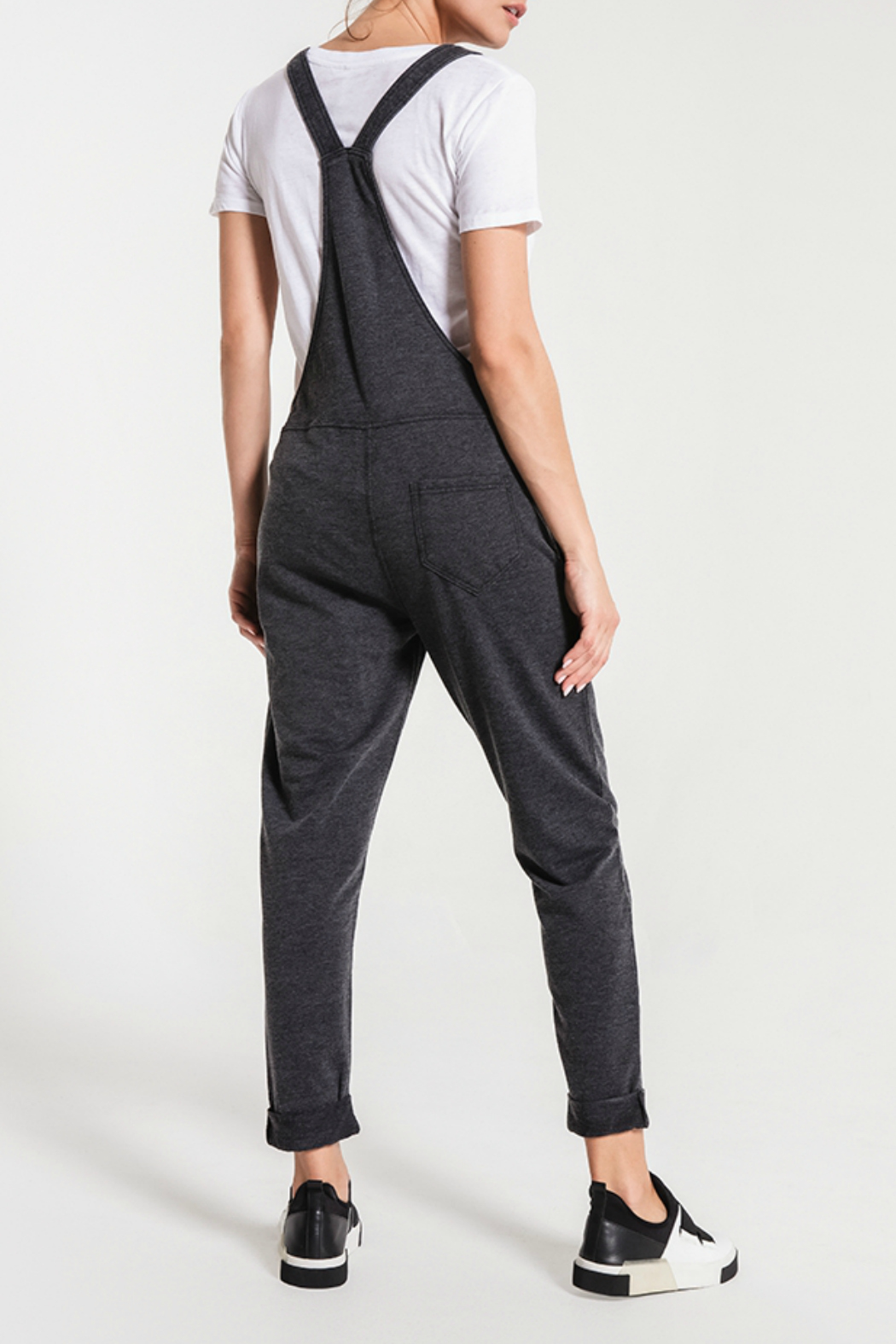 z supply Washed Overalls - Side Cropped Image
