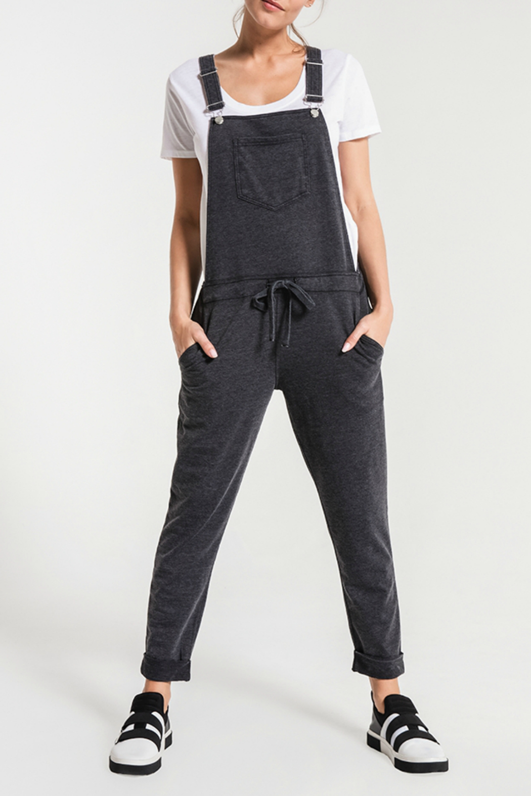 z supply Washed Overalls - Main Image