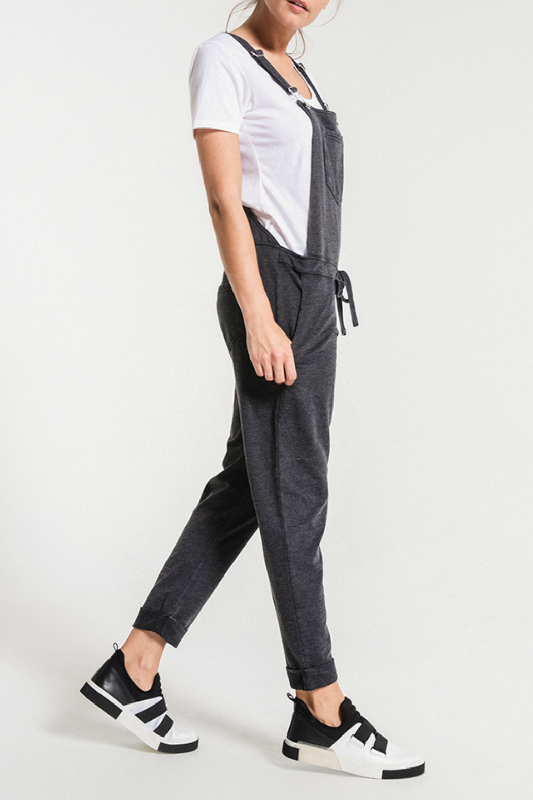 z supply Washed Overalls - Front Full Image