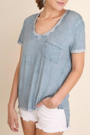 Umgee USA Washed Short Sleeve - Front cropped
