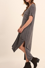 Umgee USA Washed Tee Dress - Front cropped