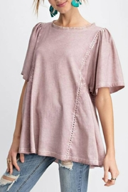 easel Washed Tunic Top - Product Mini Image