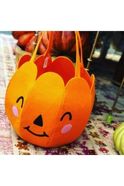 Waste Not Paper Pumpkin Trick Or Treat Bag - Product Mini Image