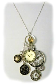 Mimi's Gift Gallery Watch Faces Necklace/earrings - Alternate List Image