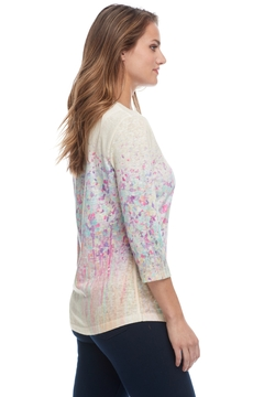 FDJ French Dressing Water Color Print Top - Alternate List Image