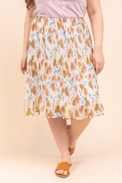 Gilli  Water Color Skirt Curvy - Product List Image