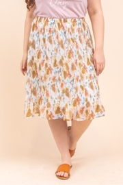 Gilli  Water Color Skirt Curvy - Product Mini Image