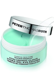 Peter Thomas Roth WATER DRENCH HYALURONIC CLOUD HYDRA-GEL EYE PATCHES - Front cropped