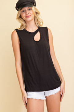 143 Story Water Drop Cutout Muscle Top - Product List Image