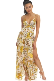 luxxel Water Florals Maxi-Dress - Product Mini Image