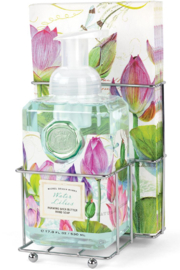 Michel Design Works Water Lilies Foaming Soap/Hostess Napkin Caddy - Product Mini Image