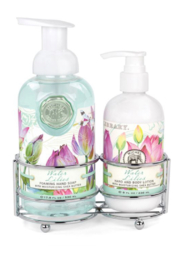 Michel Design Works Water Lilies Handcare Caddy - Product Mini Image