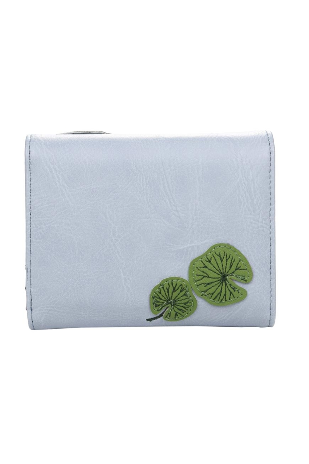 Vendula London Water-Lily Flap Wallet - Back Cropped Image