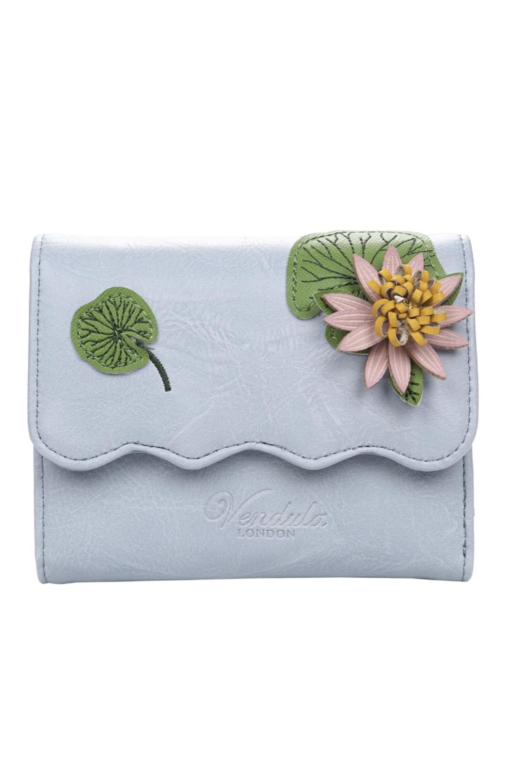 Vendula London Water-Lily Flap Wallet - Main Image
