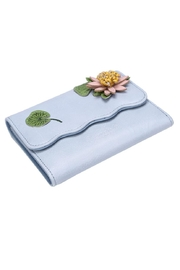 Vendula London Water-Lily Flap Wallet - Front full body