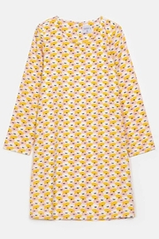 Compania Fantastica Water Lily Smock Dress - Side cropped