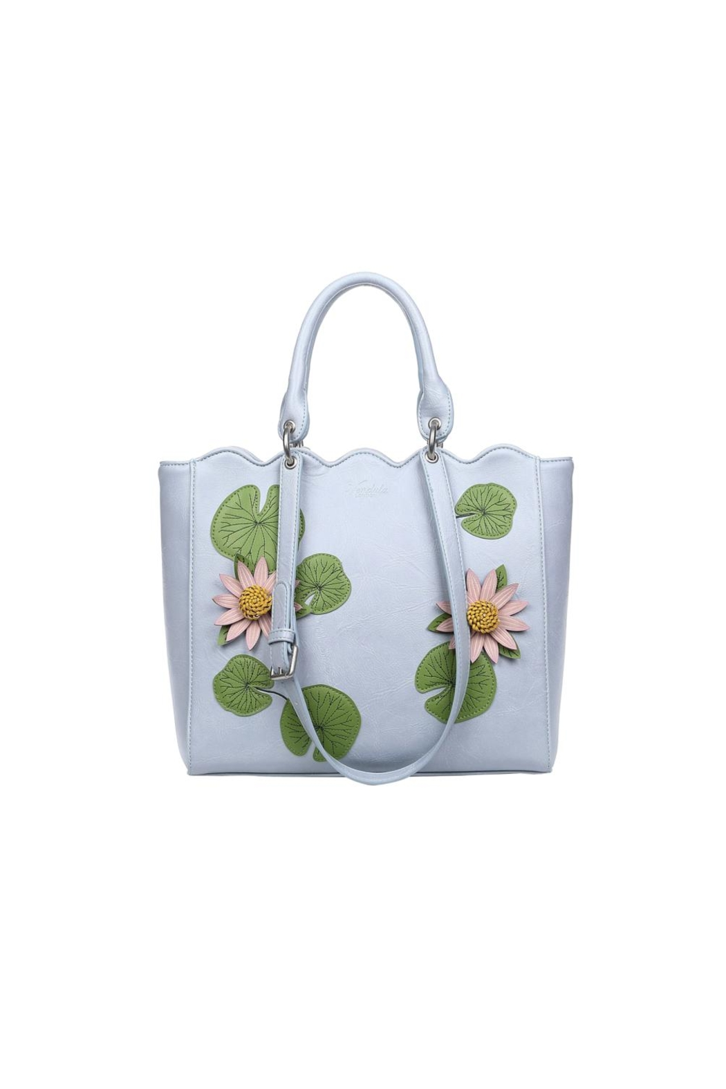 fd82a8f9e79 Vendula London Water-Lily Tote Bag from Florida by Apricot Lane St ...