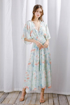 storia Water Paint Maxi Dress - Product List Image