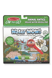 Melissa and Doug Water Wow - Animal Antics Deluxe Water Reveal Pad - Product Mini Image
