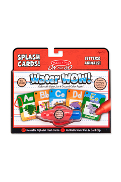 Melissa and Doug Water Wow! Letters! Animals! Splash Cards! - Product List Image