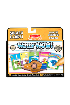 Melissa and Doug Water Wow! Number, Color, Shape Cards - Product List Image