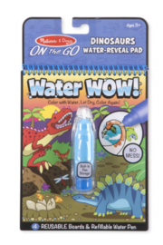 Melissa and Doug Water Wow On The Go Travel Activity - Product Mini Image