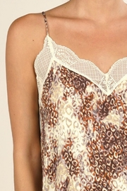 Lovestitch WATERCOLOR ANIMAL PRINT CAMI - Side cropped