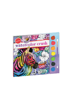 Klutz Watercolor Crush - Product List Image