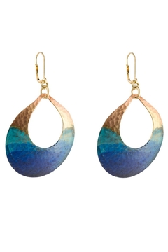 We Dream In Colour Watercolor Devi Earrings - Alternate List Image