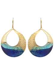 We Dream In Colour Watercolor Devi Earrings - Product Mini Image