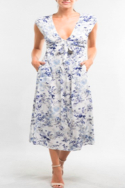 Lovestitch Watercolor Floral Dress - Side cropped