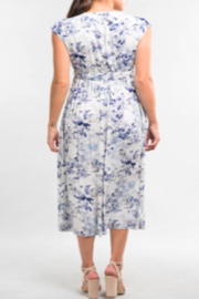 Lovestitch Watercolor Floral Dress - Front full body