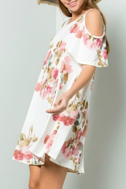 ee:some Watercolor Floral Swing-Dress - Front full body